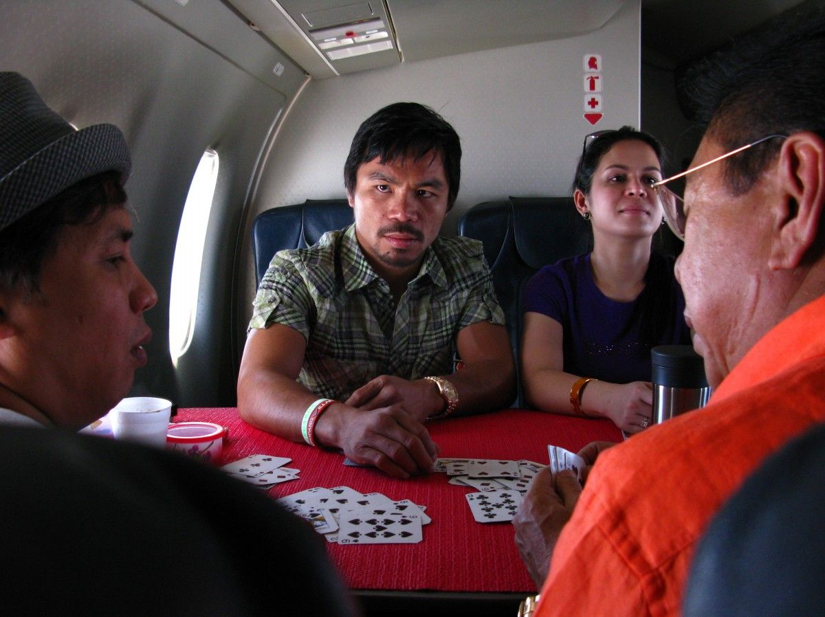 Pacquiao&#8217;s Big Gamble