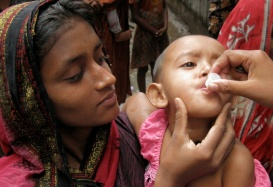 In Bangladesh, A New Way to Fight Cholera
