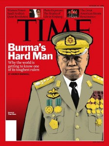 TIME cover story on Burma