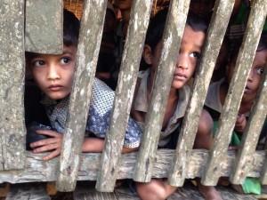 Rohingya boys